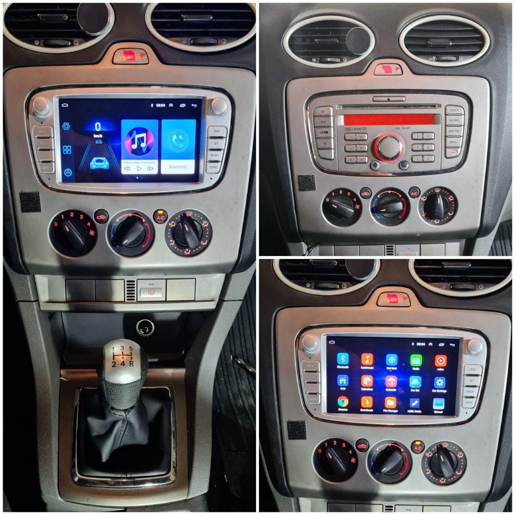 Instalación Autoradio 2din específico para Ford