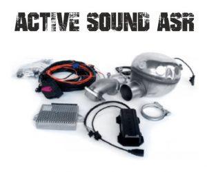 ACTIVE SOUND (ASR) Sonido V8 para Diesel, Gasolina, Híbrido o Eléctrico